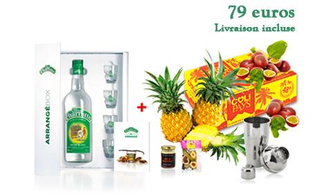 Coliarrangé Ananas Passion