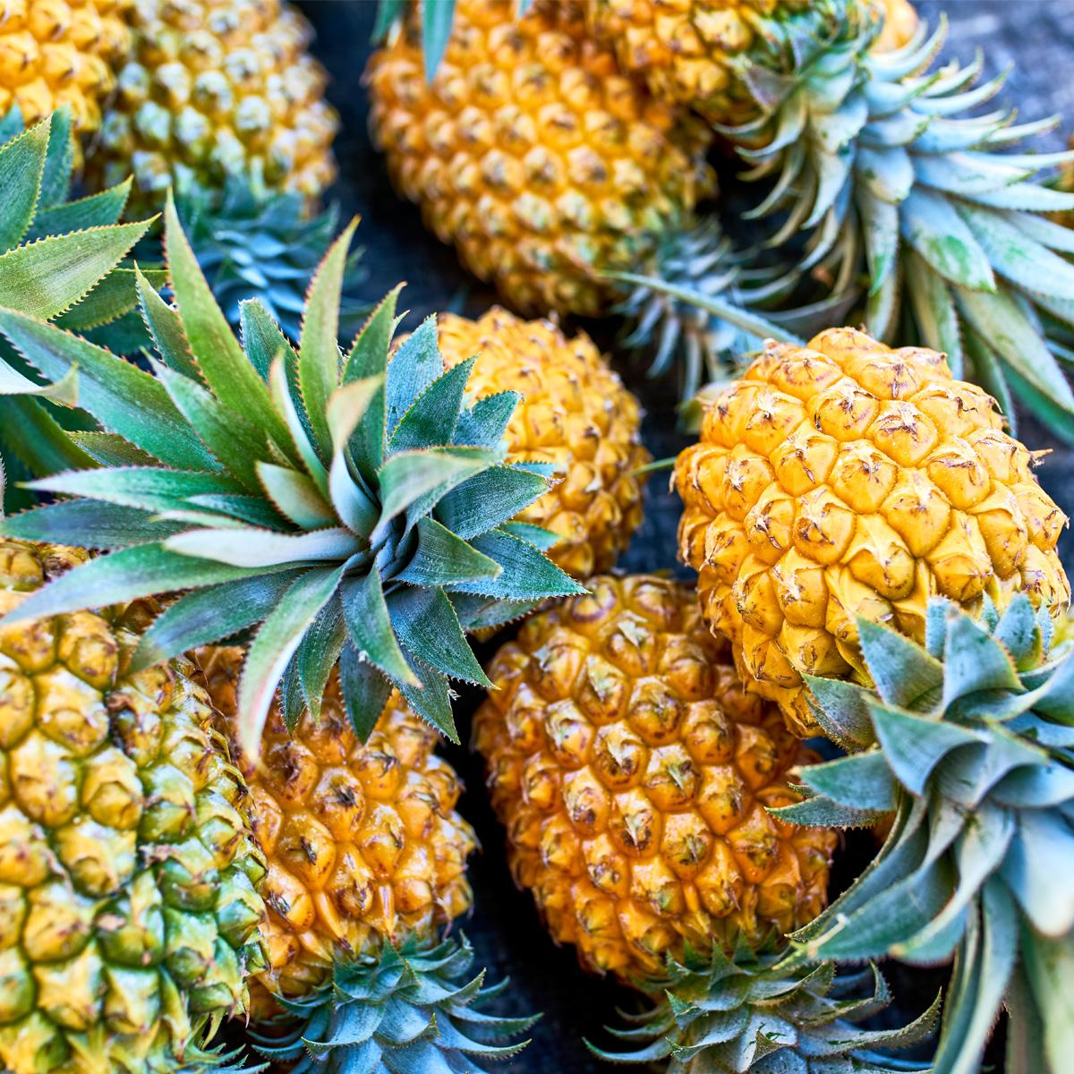 L'ananas, le fruit de la saison à la Réunion