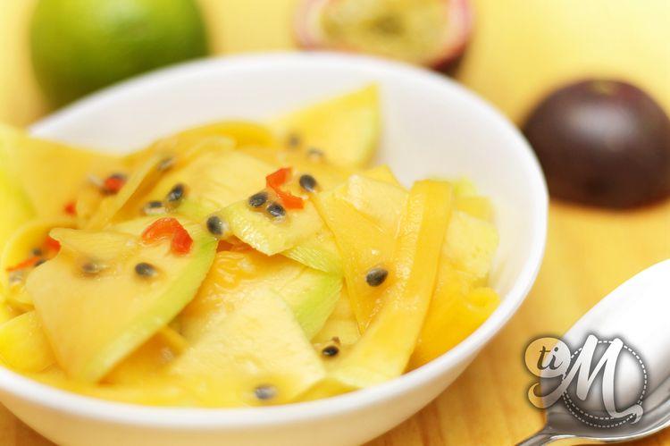 Kalawang, salade de mangues vertes au fruit de la passion