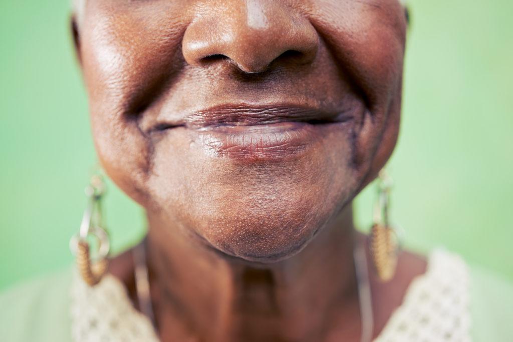 sourire grand-mère