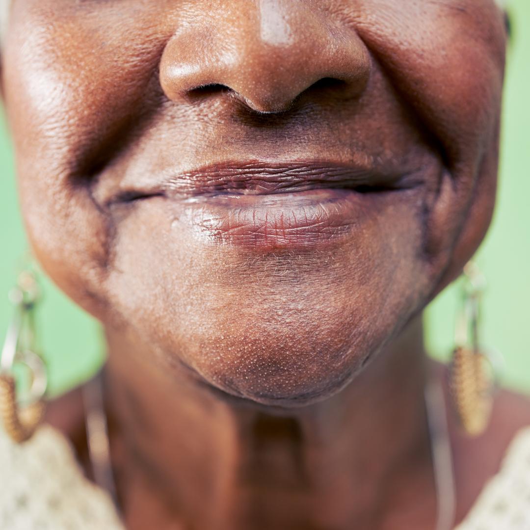 sourire grand mère